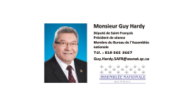 Guy Hardy - Collaborateur de la Fête du Lac des Nations