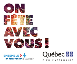 Québec - Official partner of La Fête du Lac des Nations
